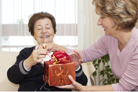 gift giving and senior care
