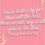 """""""You're the Best"""" Valentine's Day Card"""