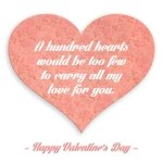 """""""All My Love"""" Valentine's Day Card"""