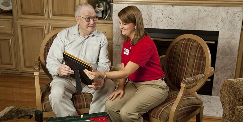 elderly in-home companionship care