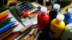 art color paint supplies